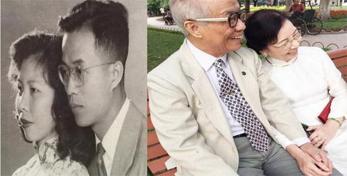 Ngưỡng mộ tình yêu của vợ chồng già suốt 60 năm qua - 1
