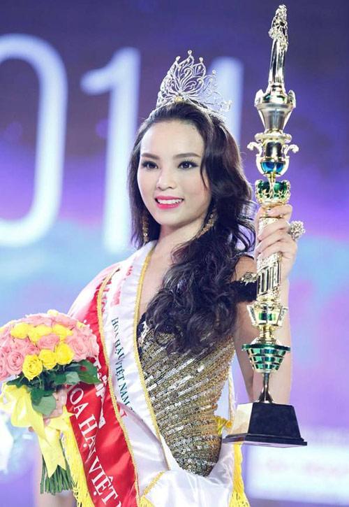 """8 mỹ nữ từng bị Kỳ Duyên """"vượt mặt"""" khi thi hoa hậu - 1"""