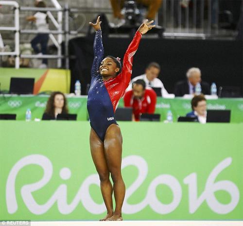 Vận động viên thể dục dụng cụ Mỹ mặc đẹp nhất Rio 2016 - 2