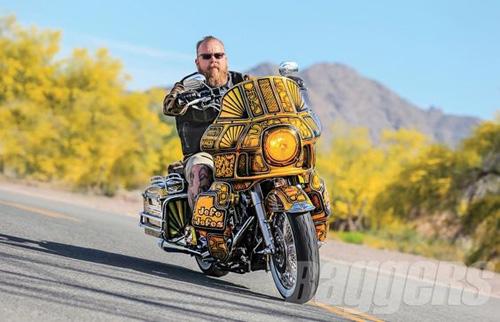 """Harley-Davidson Road King: Xế độ """"ông trùm của các ông trùm"""" - 6"""