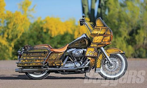 """Harley-Davidson Road King: Xế độ """"ông trùm của các ông trùm"""" - 2"""