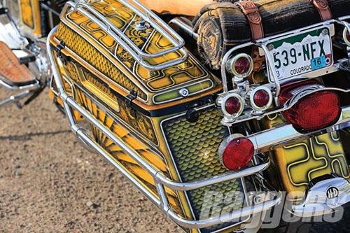 """Harley-Davidson Road King: Xế độ """"ông trùm của các ông trùm"""" - 5"""