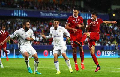 Chi tiết Real - Sevilla: Sụp đổ phút cuối cùng (KT) - 4