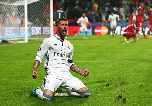 Chùm ảnh Real nghẹt thở giành Siêu cúp châu Âu - 5