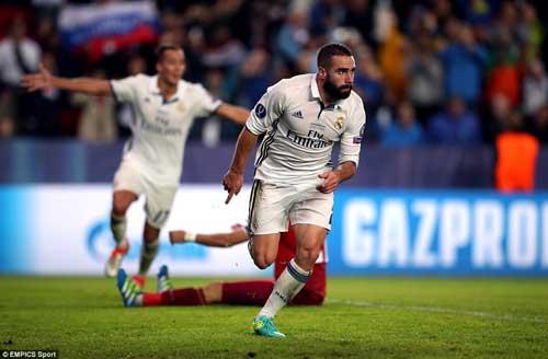Chùm ảnh Real nghẹt thở giành Siêu cúp châu Âu - 7