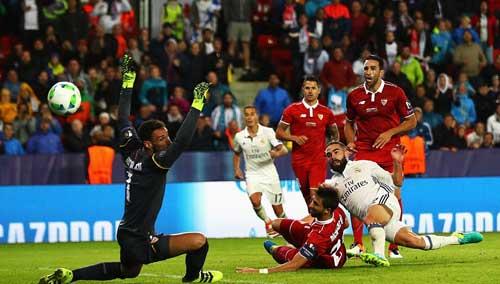 Chùm ảnh Real nghẹt thở giành Siêu cúp châu Âu - 6