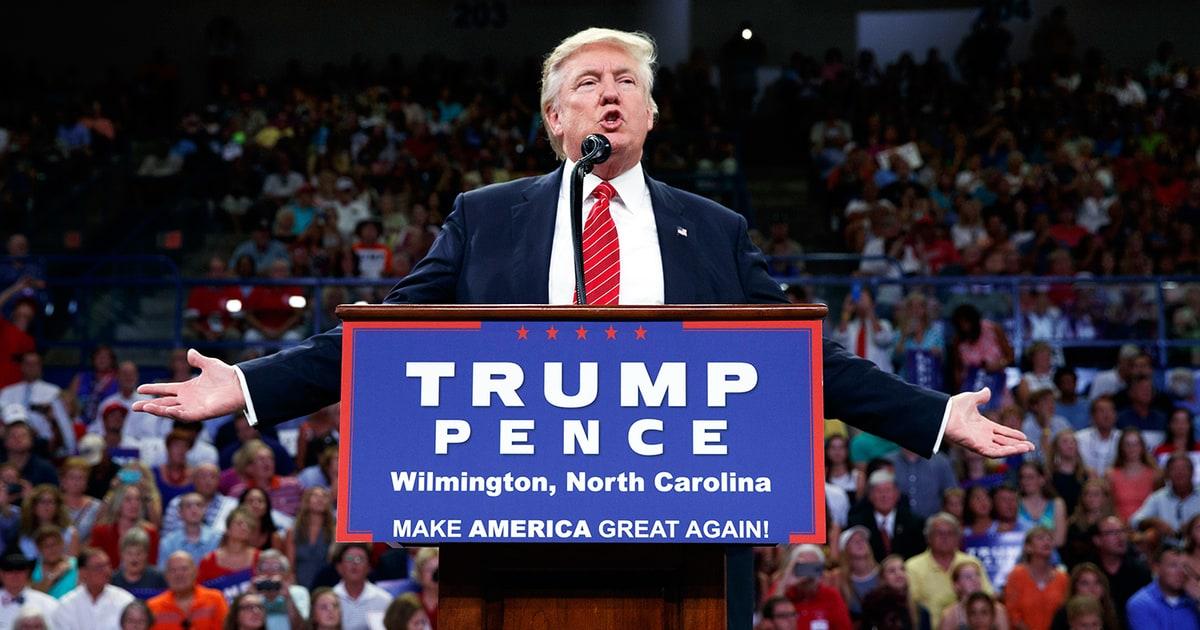 Donald Trump bóng gió kích động ám sát bà Clinton? - 1