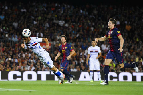 Barcelona – Sampdoria: Danh dự và niềm tin - 2