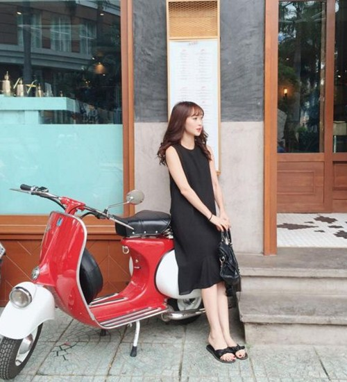"""Kiểu giày nào được các hotgirl Việt """"cưng chiều"""" ngày hè? - 10"""