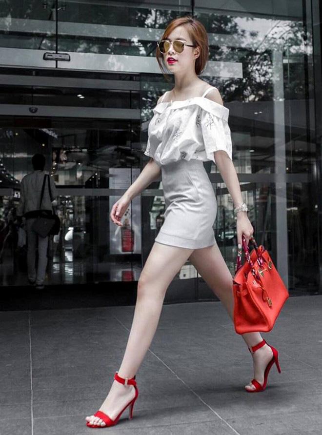 Hoàng Thùy Linh quá gợi cảm với với soóc, váy ngắn - 10