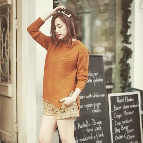 Hoàng Thùy Linh quá gợi cảm với với soóc, váy ngắn - 14