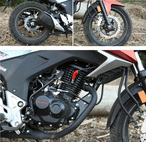 Review xe Honda CB Hornet 160 - 2