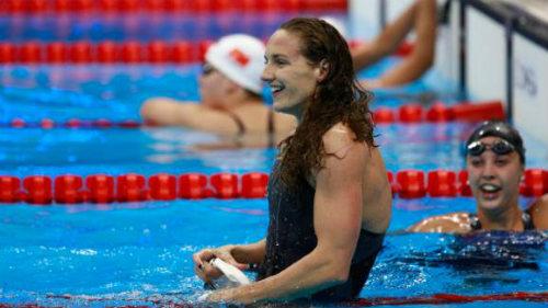 """Tin nóng Olympic ngày 4: """"Bà đầm thép"""" lập kỉ lục đường đua xanh - 1"""