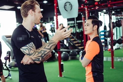 Quang Vinh tập gym để tái xuất showbiz ở tuổi 34 - 1