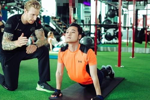 Quang Vinh tập gym để tái xuất showbiz ở tuổi 34 - 2