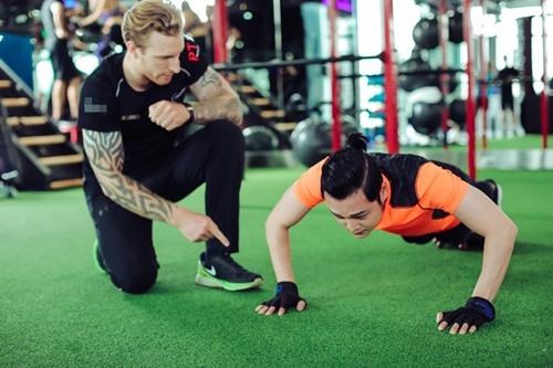 Quang Vinh tập gym để tái xuất showbiz ở tuổi 34 - 3