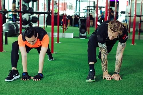 Quang Vinh tập gym để tái xuất showbiz ở tuổi 34 - 4