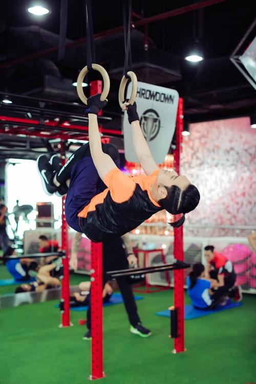 Quang Vinh tập gym để tái xuất showbiz ở tuổi 34 - 5