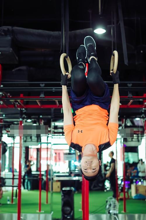 Quang Vinh tập gym để tái xuất showbiz ở tuổi 34 - 6