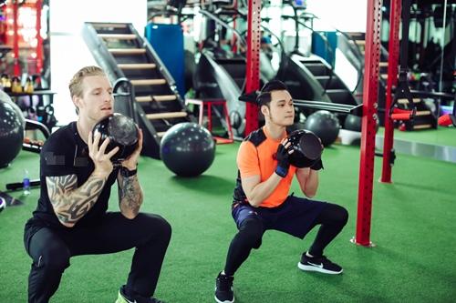 Quang Vinh tập gym để tái xuất showbiz ở tuổi 34 - 7