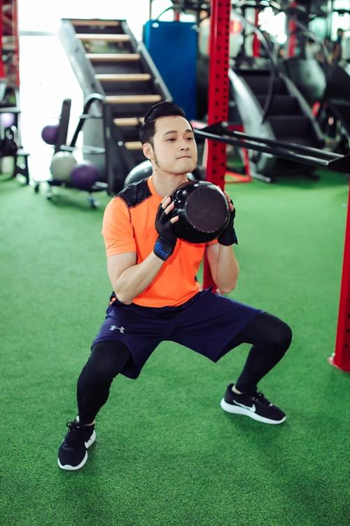 Quang Vinh tập gym để tái xuất showbiz ở tuổi 34 - 8