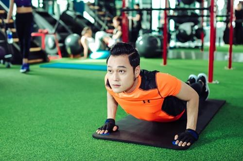Quang Vinh tập gym để tái xuất showbiz ở tuổi 34 - 9