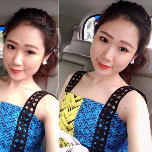 Em gái của bạn trai HH Kỳ Duyên xinh như hot girl - 4