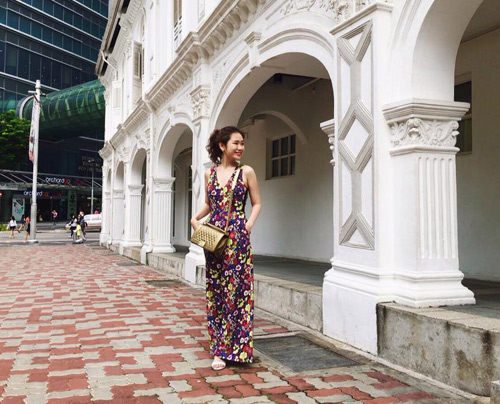 Em gái của bạn trai HH Kỳ Duyên xinh như hot girl - 14