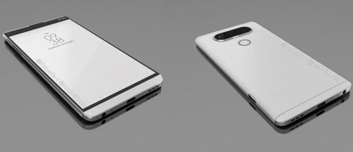 """Lộ ảnh LG V20 dùng camera kép """"khủng"""" - 1"""