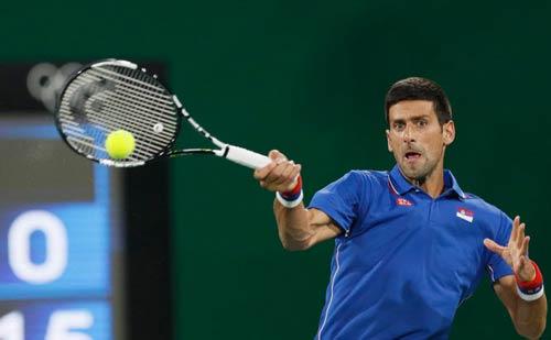 Olympic: Giọt nước mắt quyện mồ hôi của Djokovic - 2