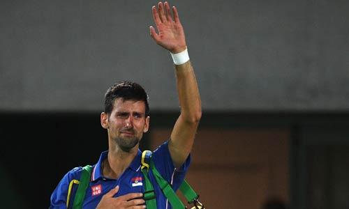 Olympic: Giọt nước mắt quyện mồ hôi của Djokovic - 1