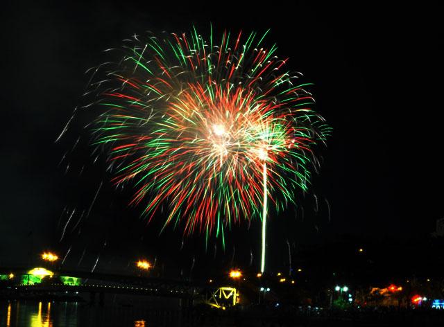 TP.HCM: Bắn pháo hoa nghệ thuật tầm cao mừng Tết Độc lập - 1