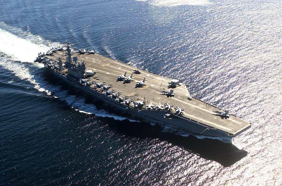 """Thế giới chỉ có một """"đối thủ"""" của tàu sân bay Mỹ - 1"""