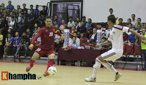 """Tuyển Futsal VN khiến nhà vô địch châu Phi """"toát mồ hôi"""" - 3"""