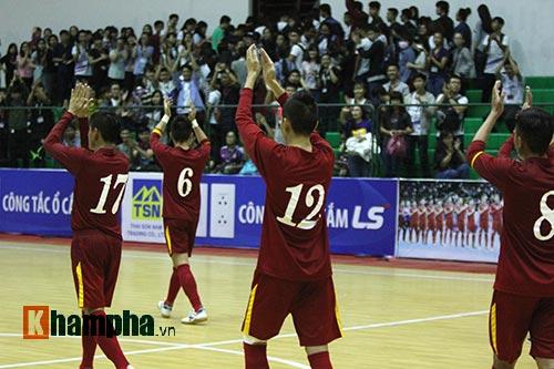 """Tuyển Futsal VN khiến nhà vô địch châu Phi """"toát mồ hôi"""" - 7"""