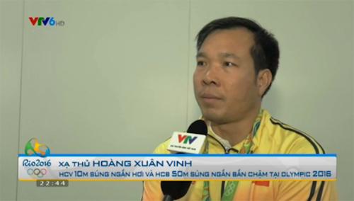 Hoàng Xuân Vinh tiết lộ chuyện đổi chiến thuật không ngắm bắn lâu - 1