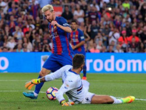 Barca - Sampdoria: Niềm cảm hứng Messi - 1