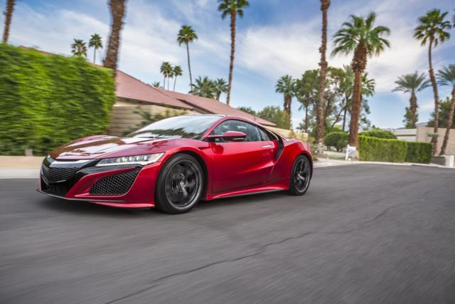 Acura NSX 2017 sắp có phiên bản roadster và Type R - 1