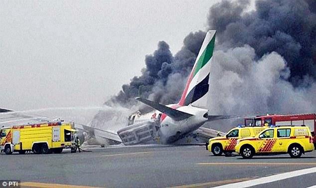 Trúng số 1 triệu USD sau khi thoát máy bay cháy ở Dubai - 1