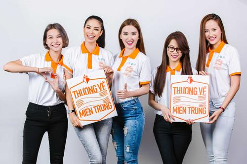 """Dàn sao Việt xuất hiện giản dị trong bộ ảnh cộng đồng """"Thương về Miền Trung"""" - 1"""