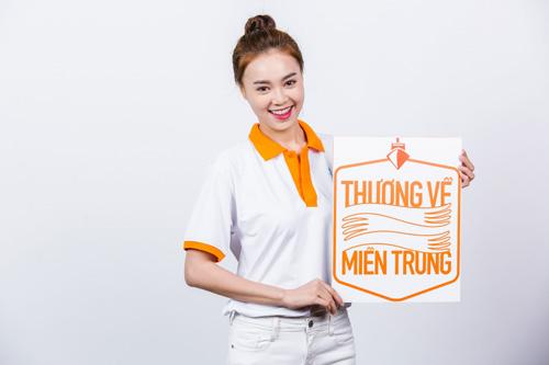 """Dàn sao Việt xuất hiện giản dị trong bộ ảnh cộng đồng """"Thương về Miền Trung"""" - 3"""