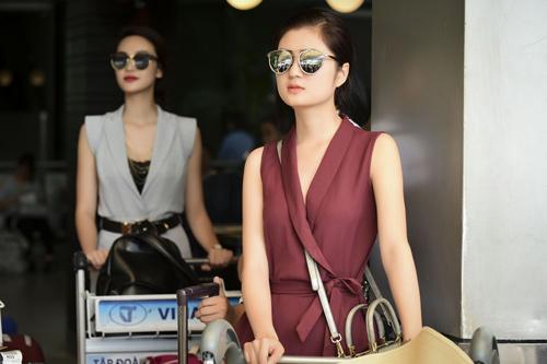 Hình ảnh đời thường mơn mởn của thí sinh Hoa hậu VN - 6