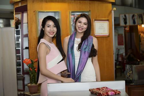 Hình ảnh đời thường mơn mởn của thí sinh Hoa hậu VN - 9