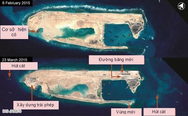 Mỹ: TQ đang làm trái lời ông Tập Cận Bình ở Biển Đông - 1