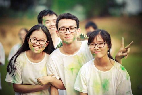Ảnh kỷ yếu của lớp có 100% học sinh đỗ ĐH ở Nghệ An - 9