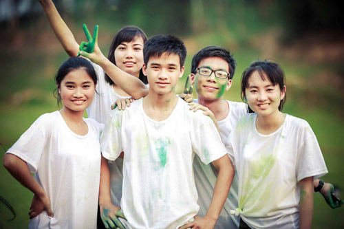 Ảnh kỷ yếu của lớp có 100% học sinh đỗ ĐH ở Nghệ An - 10