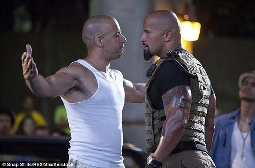 Phim chưa ra mắt, diễn viên Fast & Furious 8 đã lục đục - 1