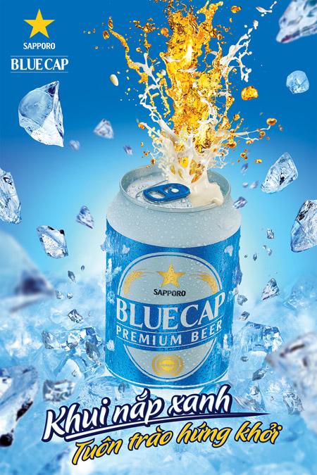 """Sapporo Việt Nam: ra mắt """"BLUE CAP"""" - đa dạng hóa thị trường - 1"""