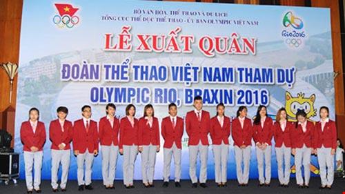 Đoàn thể thao Việt Nam lên tiếng về việc 'quan chức tranh suất ở Olympic' - 1
