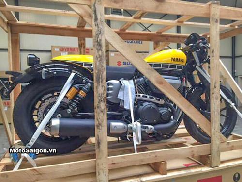 """""""Soi kỹ"""" Yamaha XV950 Racer 2016 bản kỷ niệm và bản màu xám - 3"""